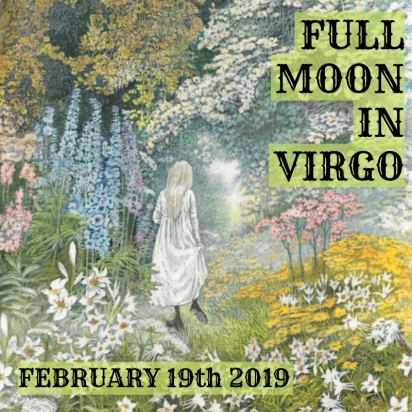 Full Moon in Virgo – MABEL VAUTRAVERS